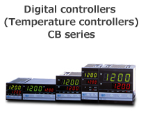 Digital Controllers (Temperature Controllers) CB Series