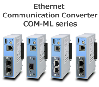 Ethernet Communication Converter COM-ML series