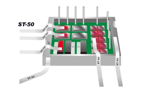 パワーモジュールの発熱温度検証
